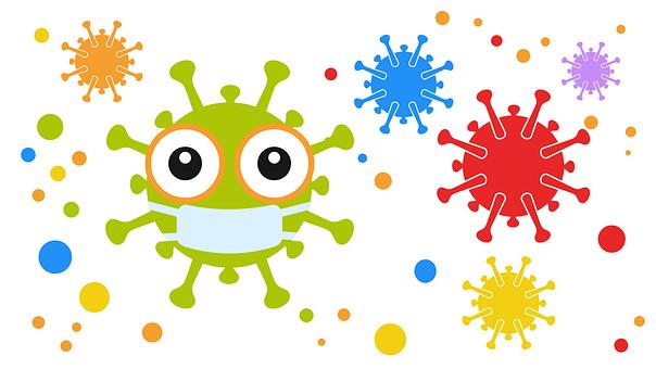 Coronavirus, Emoji, Mundschutz