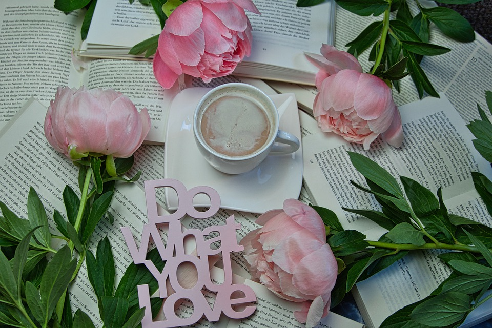 At Home, Books, Read, Bunch Of Flowers, Flower
