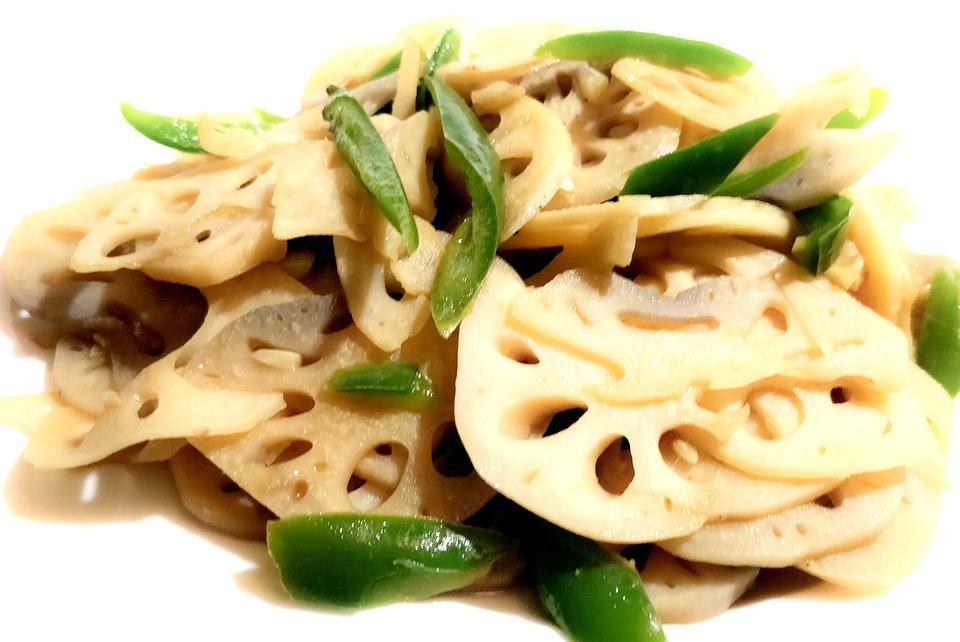 蓮根, 中国語, 食品, レストラン, アジア, 健康, 料理, 食べる, ダイエット, おいしい, 食事