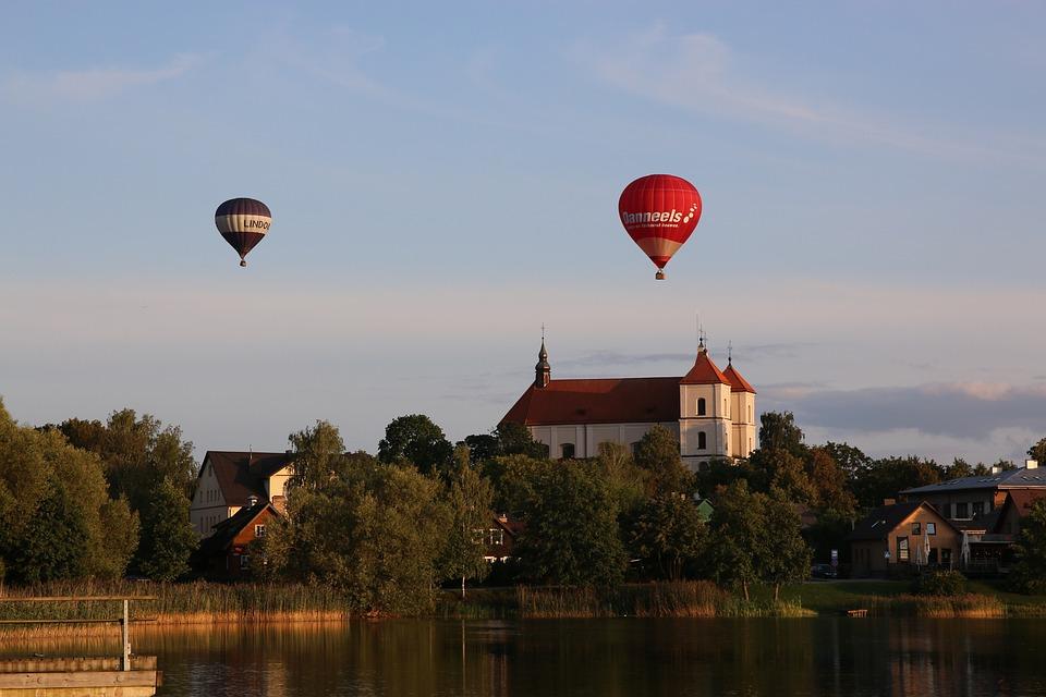 Litauen, Heißluftballons