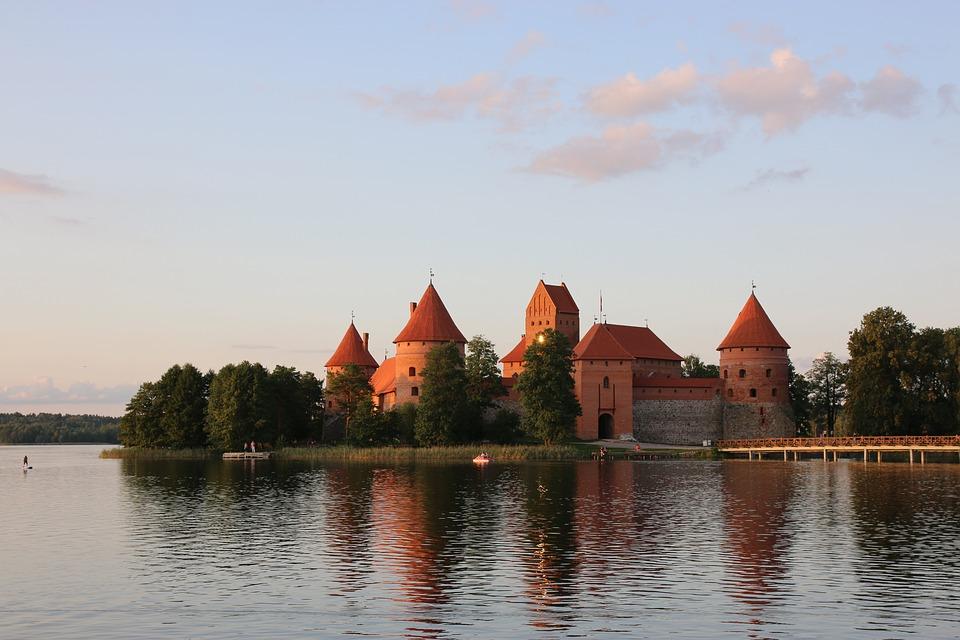 See, Wasser, Schloss