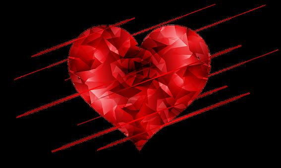 Herz, Rot, Abstrakt, Liebe, Sweethearts