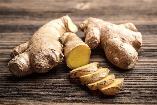 Ginger, Fresh Ginger, Food, Organic