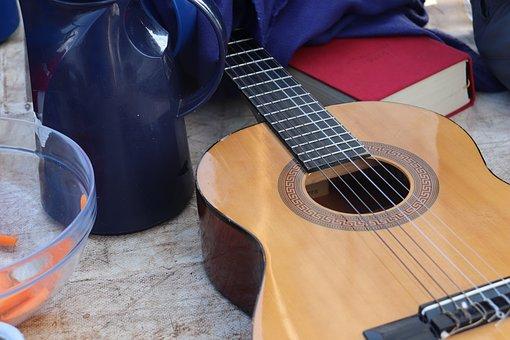Gitarre, Musik, Musiker, Instrument