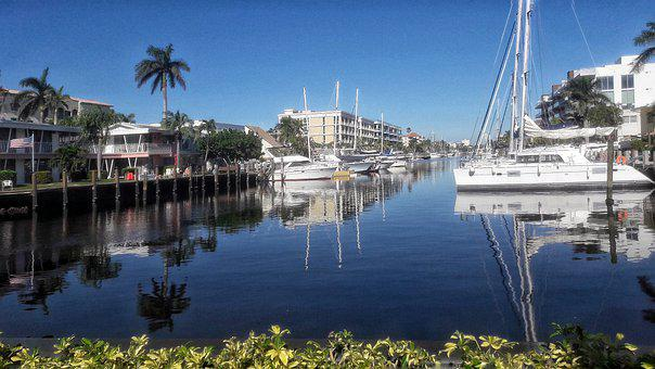 Florida, Fort Lauderdale, Yachts