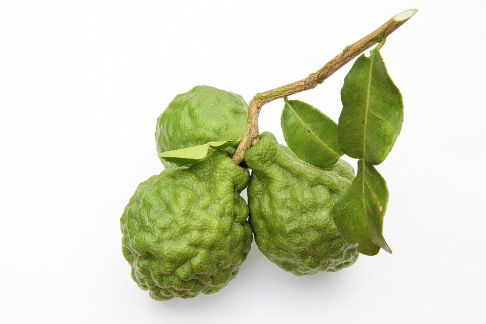 Green, Bergamot, Food, Leaf, Thailand, Natural, Lime