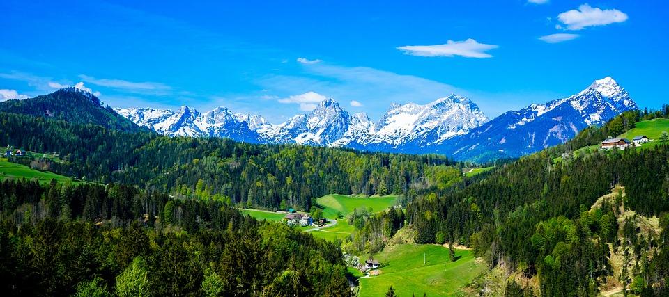Alpesi Ausztria Hegyek Nagy - Ingyenes fotó a Pixabay-en