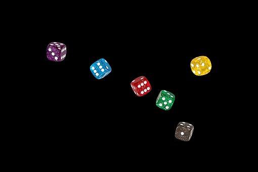 Cube, Gambling, Craps, Play