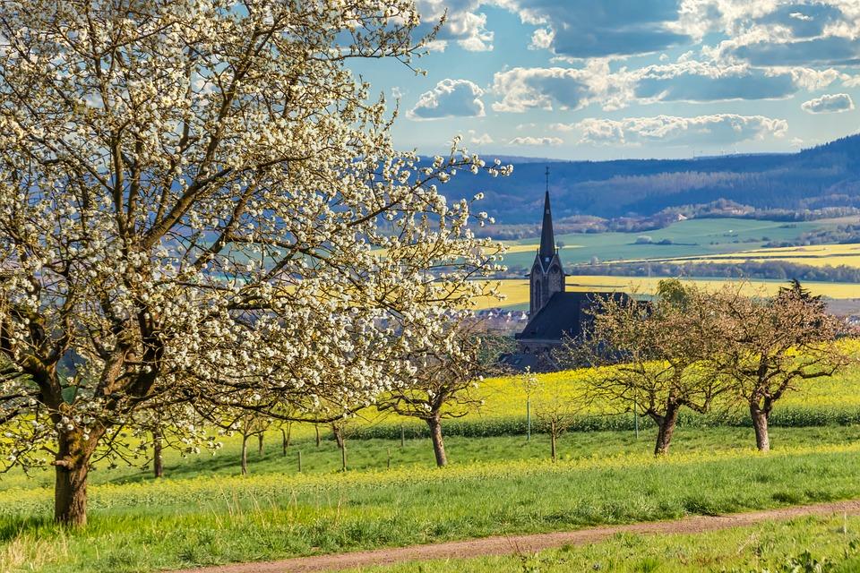 Paysage Nature Printemps Village - Photo gratuite sur Pixabay