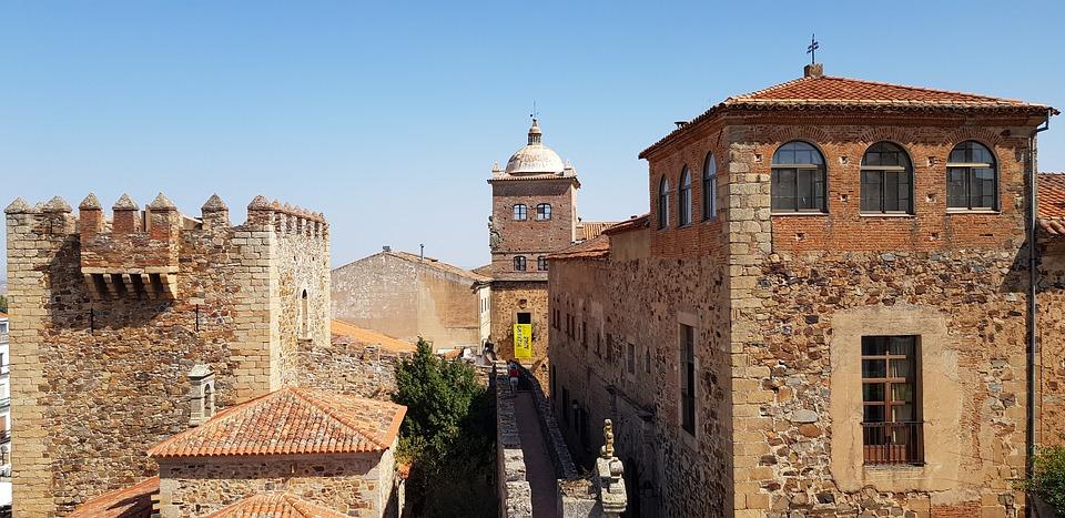 Cáceres, Extremadura, Spanyolország, Utazás, Célállomás