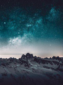 100 Gambar Penuh Bintang Langit Gratis Pixabay