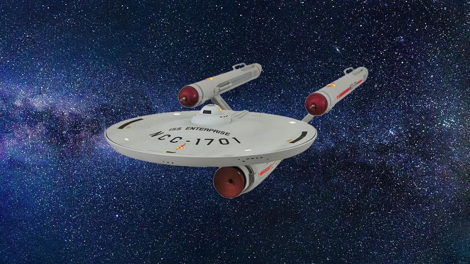 Spaceship, Star Trek, Enterprise, Science Fiction