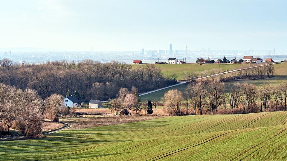 Ville, Des Terres, Paysage, L'Exode Rural, Stadtflucht