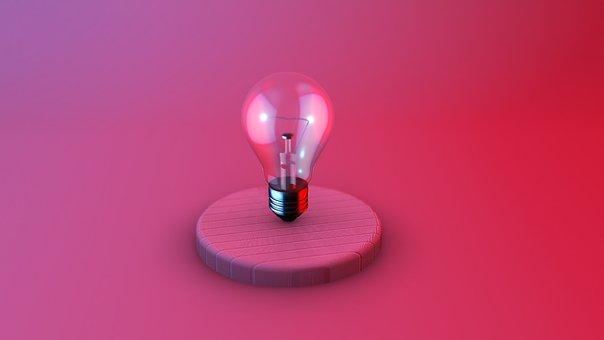 Light Bulb, Idea, Concept, Innovation