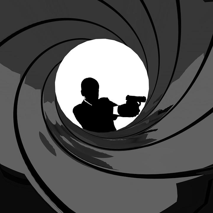 James, Bond, Spy, Movie, Credit, Eye, Gun, Man, Agent