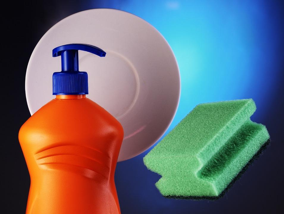 Detergent, Plastic, Housework, Disinfectant, Бутилка