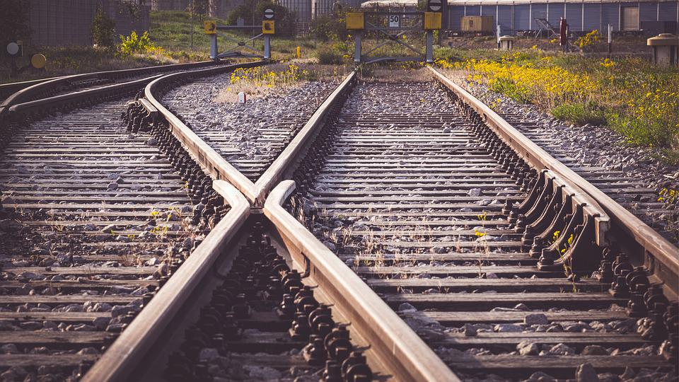 Rails, Soft, Gleise, Train, Junction, Railroad Tracks