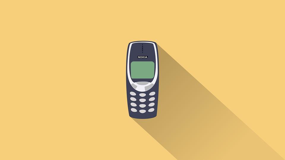 The classic Nokia 3310.