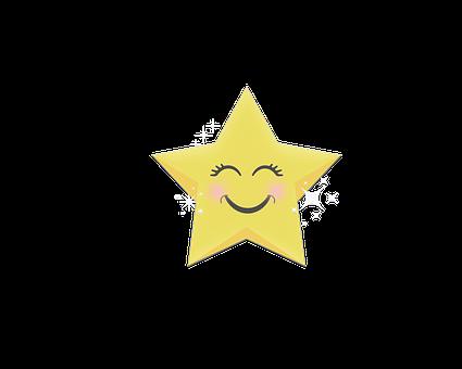 Happy, Star, Bright, Christmas