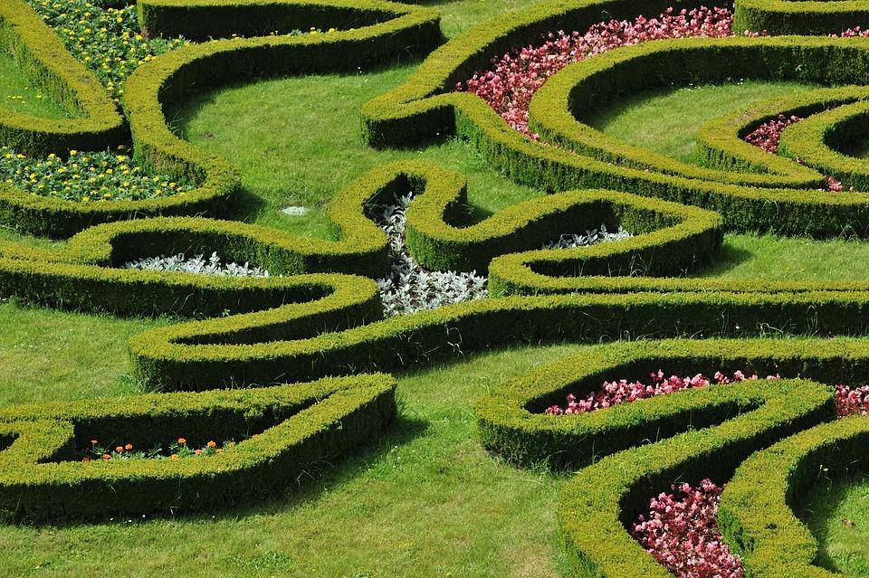 Garden, Flowers, Kroměříž, Unesco, Green