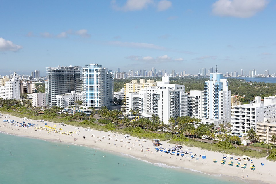 Beach, Key West, Florida, Ocean, Water, Nature, Sea