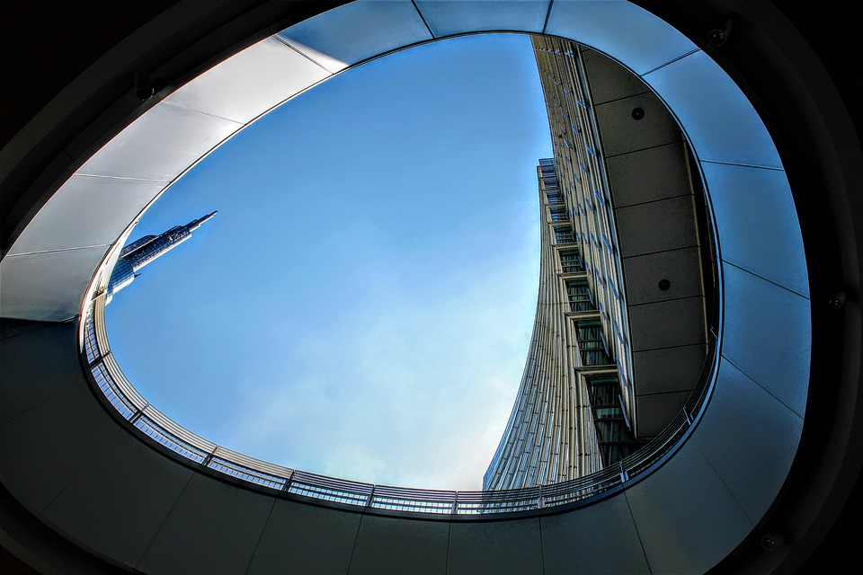 Milano, Prospettiva, Architettura, Costruzione, Edifici