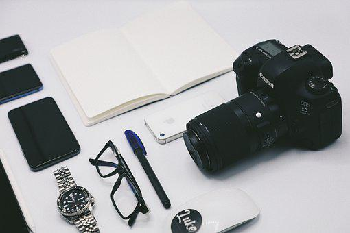 Canon, Powerglass, Ipod, Applemouse