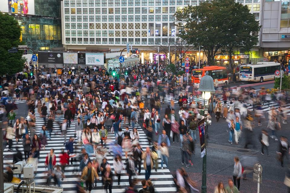交通, トラフィック, 建物, シマウマの横断歩道, 場所, 観光, 風景, 首都圏, 徒歩, 日本