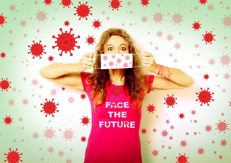 Corona, Face The Future, Protector Bucal, Máscara