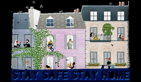 Stay Home Stay Safe, Coronavirus