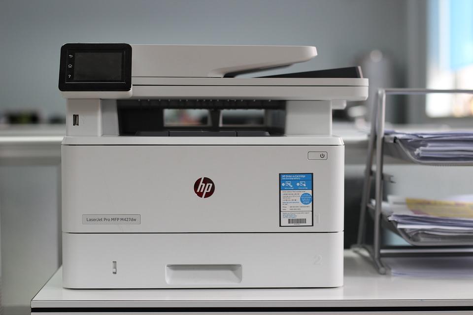 Office, Printer, Copier, The Work, Printing, Scanner