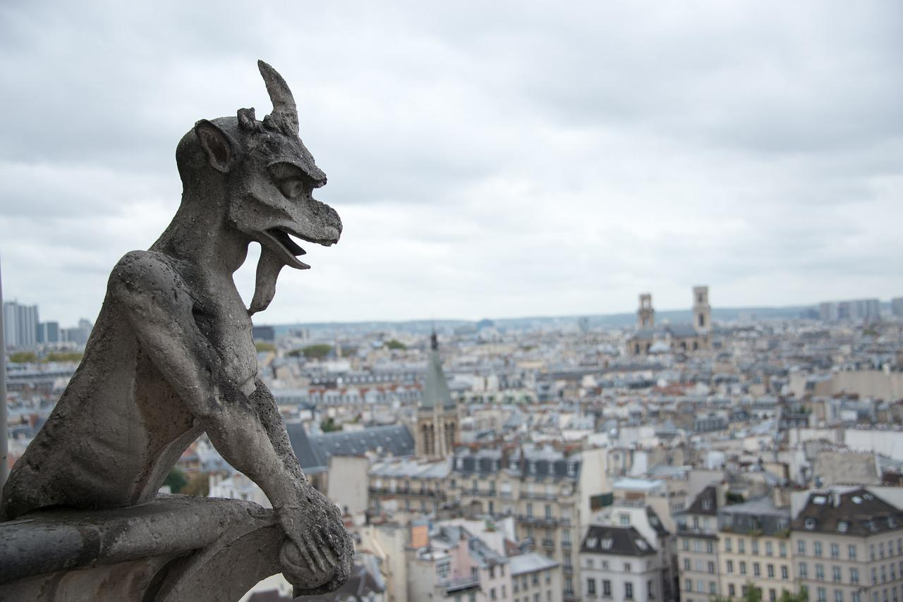 Gargoyle Notre Dame - Free photo on Pixabay