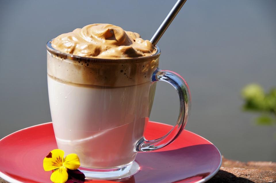 Café, Dalgona, Especialidad, Casa, Bebida, Frío, Hielo