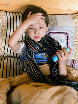 赤ちゃん, 子供, Maticic, 痛み, 鼻水, 一般的な風邪