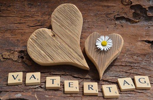 Vatertag, Liebe, Danke, Herz, Harmonie