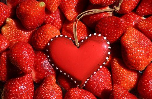 Strawberries, Fruit, Healthy Heart