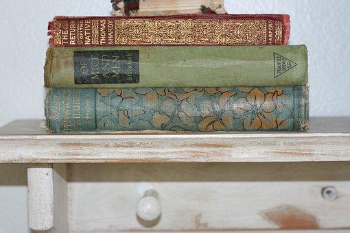 Vintage, livros, ratos e homens, livro