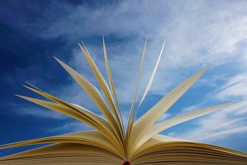 本, ページ, 読み取り, 教育, 小説, 文学, 空, 雲, 学ぶ, 愛