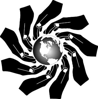 People, Hands, Earth, World, Planet