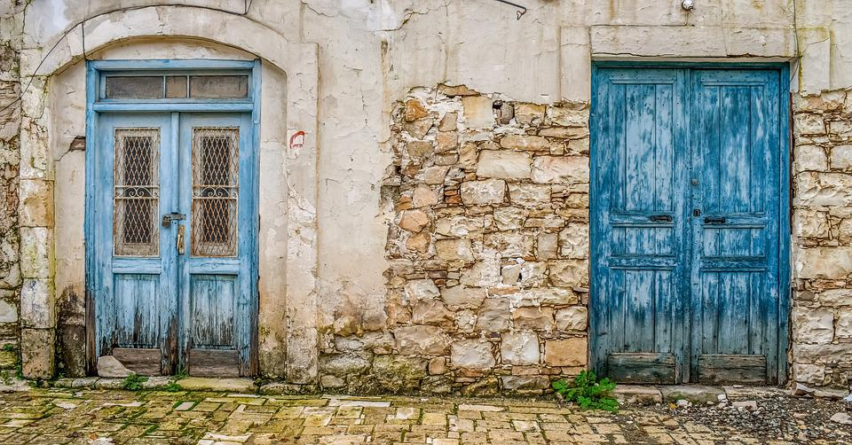 Doors, Façade, Old House, Architecture, Traditional