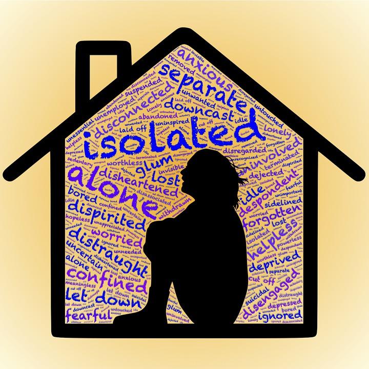 Aislamiento, Separación, Desconexión, Solo, Insocial