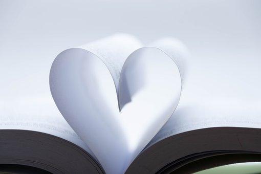 Βιβλίο, Αγάπη, Καρδιά, Συντακτική