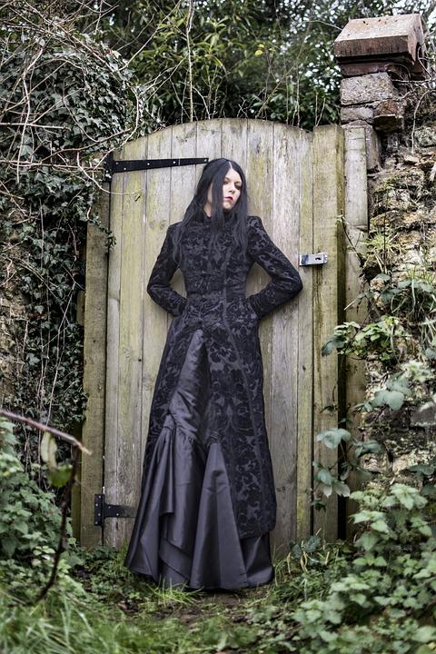 Gothic, Woman, Fantasy, Female, Model, Young, Portrait