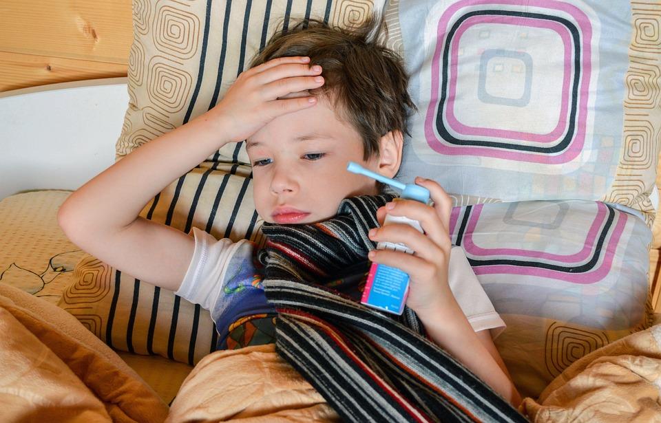 Medicine, Child, Hurts, Got Sick, Cold, Angina, Orvi