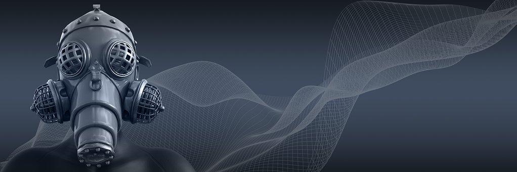 Banner, Cyber, Network, Futuristic