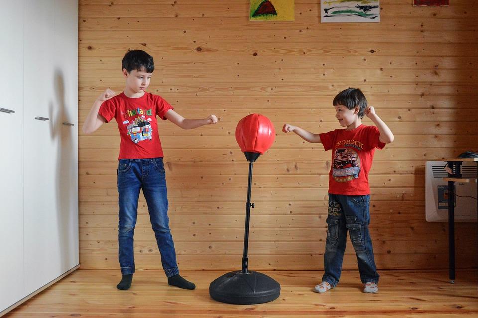 To Box, Kids, Fight, Boxing, Sports, Training