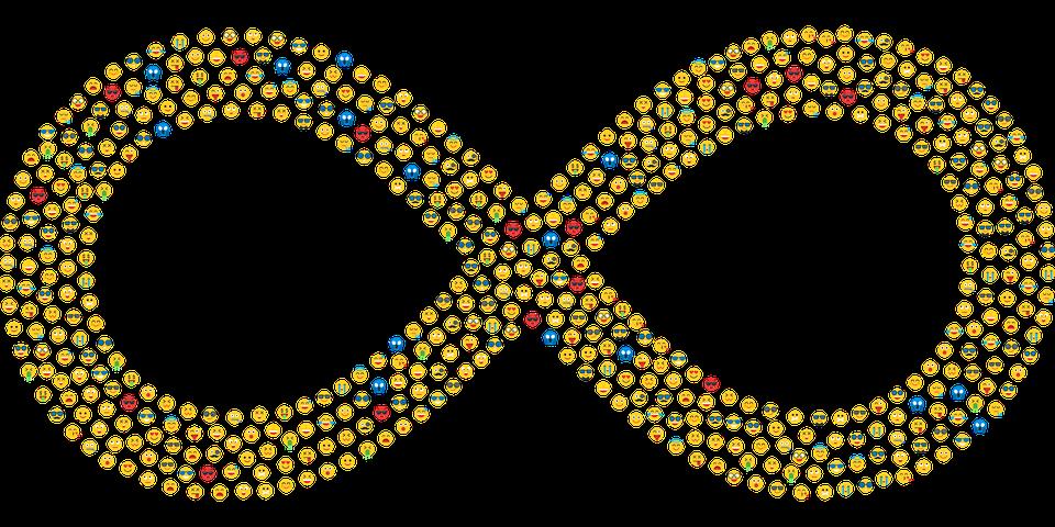 Infini Emoji Emoticones Images Vectorielles Gratuites Sur Pixabay