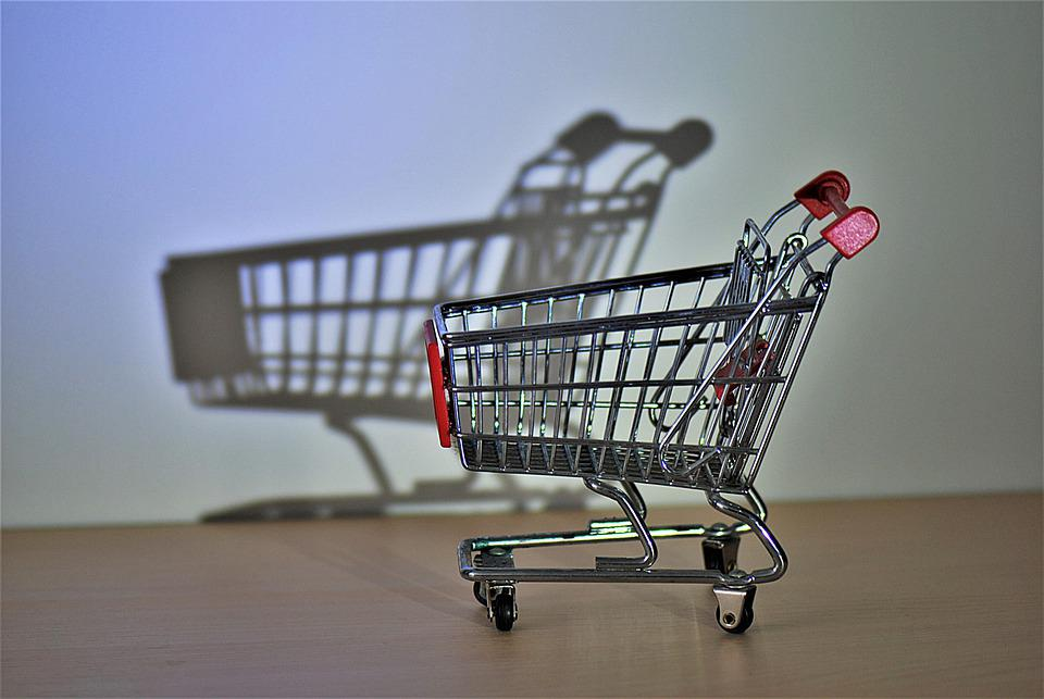 Shopping Cart, Hispanic, Close Up, Miniature