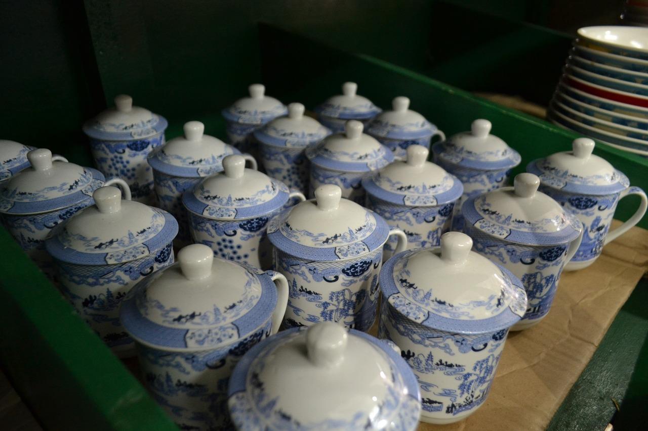 Clay Ceramic Blue Free Photo On Pixabay