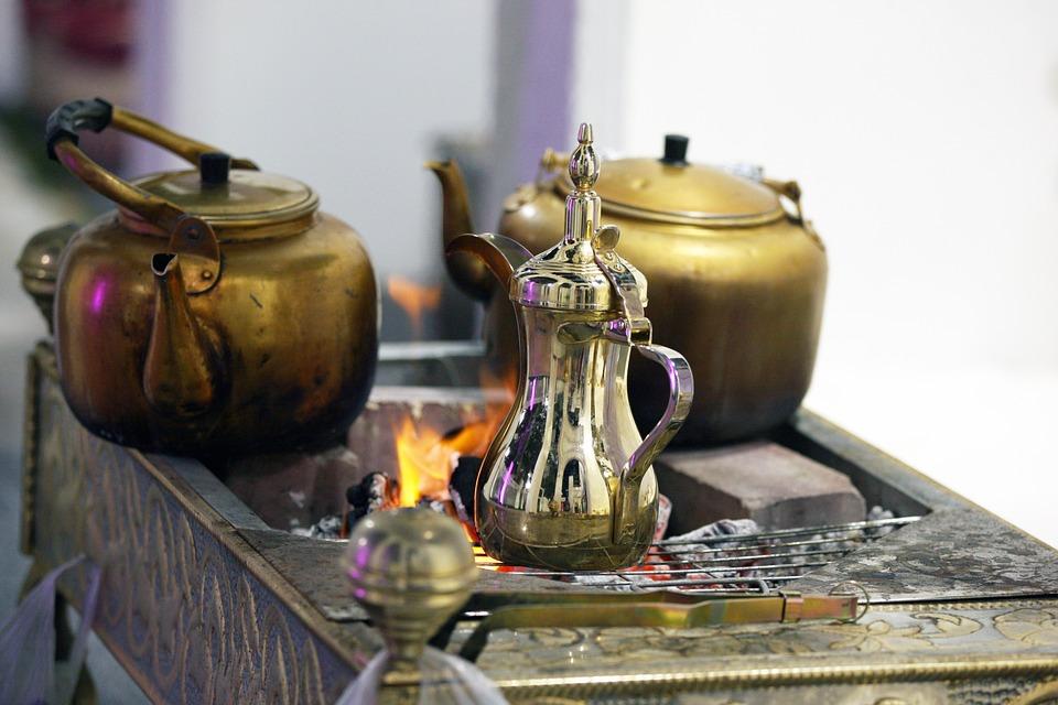 Арабский Кофе, Арабские Кофейники, Партия Пустыне